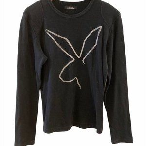 Only for Men XAVIER DELCOUR Black Long Sleeve Tee